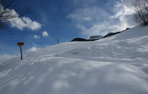 Snowy Hillside in the Zillertaler Alps by Stefan Jürgensen on Flickr.