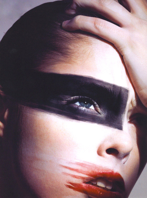 Coco Rocha by Mario Sorrenti for V #47