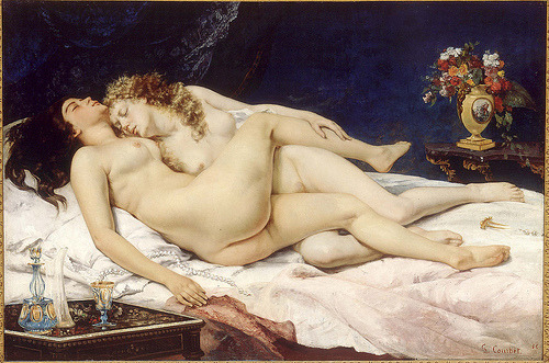 (via Gustave Courbet - Sleep [1866] | Gandalf's Gallery)