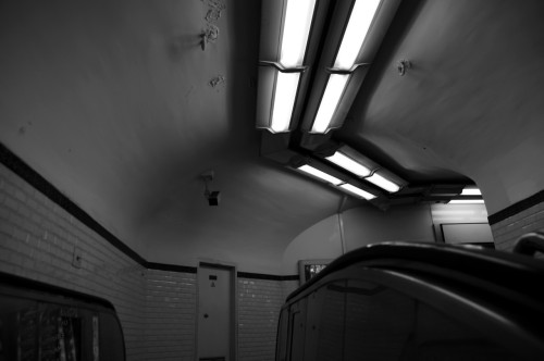 Paris Metro. March 2012.