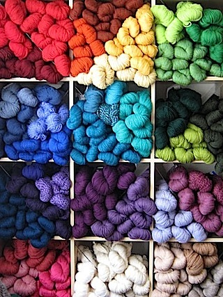 More wool porn.  Oh, what delicious hues!
