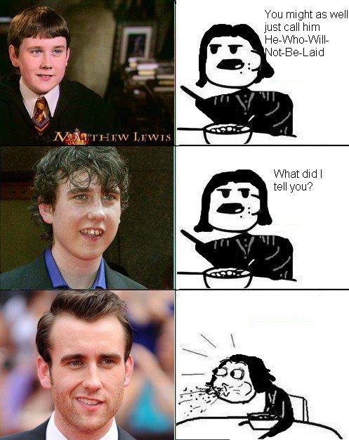 A series of NEVILLE LONGBOTTOM TURNED SEXY pics :D