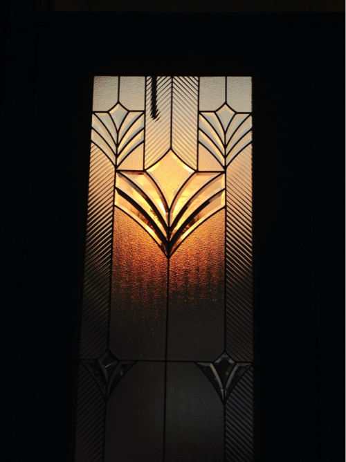 Sunrise & stained glass.