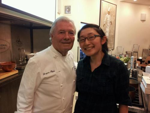 Me and Chef Jacques Pepin