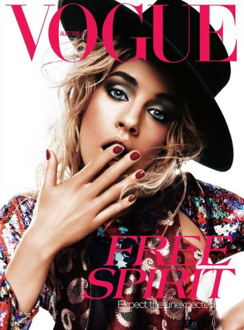 Portadas Vogue Abril 2012. Please, click the picture to read the full history…