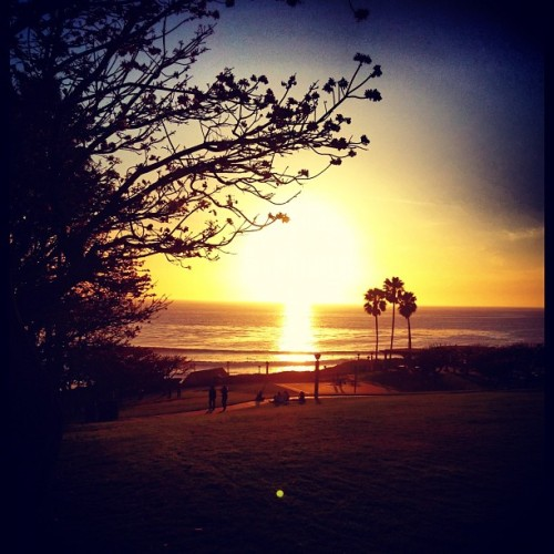 🌅#sunset (Taken with Instagram at Salt Creek Beach)