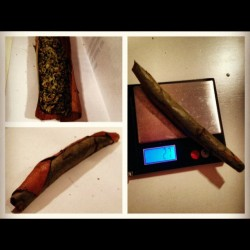 ildi-420:  2.7 g Blunt. 💜 #girlswhorollblunts #marijuana #girlswhosmokeweed #smoking #bluntsonblunts (Taken with instagram)