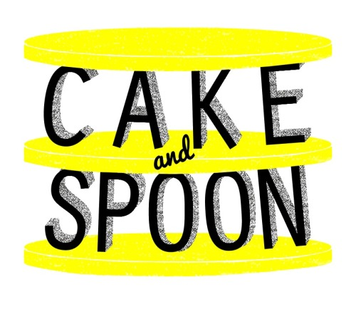 Logo Design for CAKE AND SPOON©, a bakery in Austin, Texas