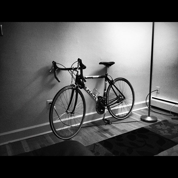 So great having a bike in #rva.  (Taken with instagram)