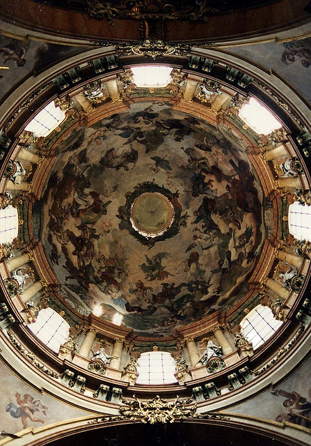 ysvoice:  | ♕ |  Dome Fresco - St. Nicolas in Prague  | by © earthmagnified