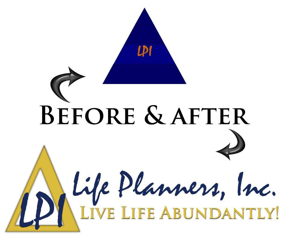 Before & After shots of new logo design for LPI. Client was looking for similar structure and font, just something a little more eye-catching. New LPI website coming in the next few days!