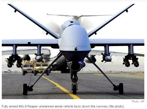 US Drone Crashes in Seychelles… A U.S. drone aircraft has crashed at an airport in the Seychelles.The U.S. embassy in nearby Mauritius says the remote-controlled MQ-9 aircraft crashed Tuesday at the Seychelles International airport on the island of Mahe.Officials from the Seychelles Civilian Aviation Authority said the drone was on a routine patrol and developed engine problems minutes into its flight.The embassy did not comment on the plane's mission and said the cause of the crash was unknown.
