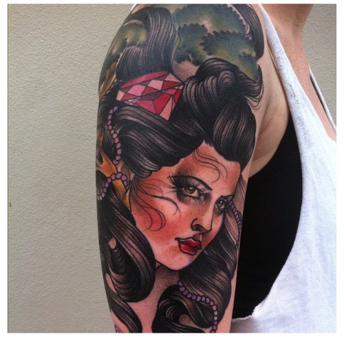 tattoosforpassionnotfashion:  done by jasmin austin