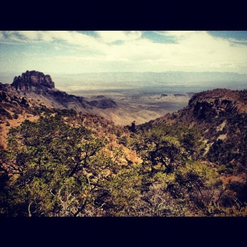 Edward Abbey's old stomping grounds (Taken with Instagram at Big Bend National Park)