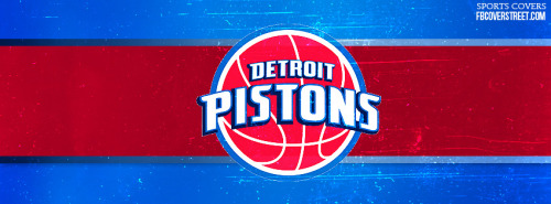 Detroit Pistons Logo Facebook Cover