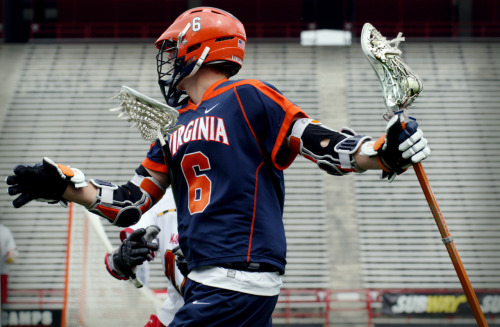 From the UVa vs. MD lacrosse game