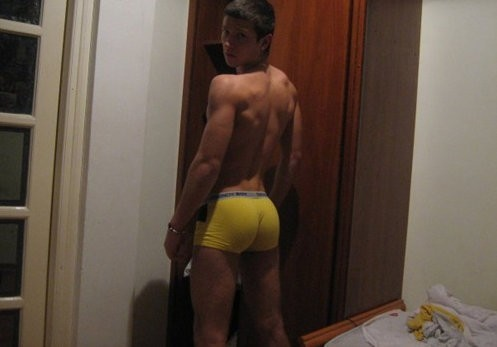 Happy Hump Day from your rOOMmate's rear…
