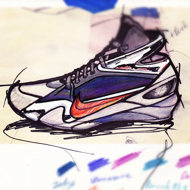 Portfolio time. #nike #quicksketch #youaintready #dowork #pdx #portland (Taken with instagram)