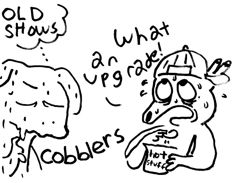 the crittlers/trobblers crossover you've all been dreaming about, ILLUSTRATED BY PARTHYDOG