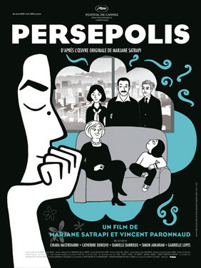 Cinematic Bookends: In this engrogssing adaptation of Marjane Satrapi's graphic memoir, a precocious, rebellious Iranian girl comes of age during Iran's Islamic Revolution and its aftermath.