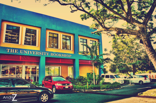 UWI Mona Bookstore  So many laughs have happened here :')