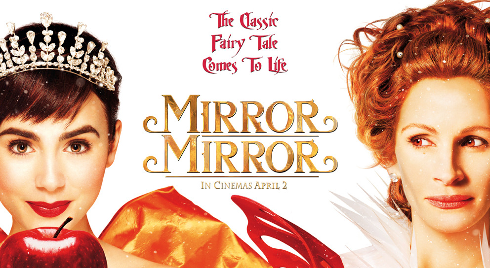 "Mirror Mirror (2012) - Directed By Tarsem Singh - Rating: 3/5 After seeing the advertisements for this film, I was pretty turned off from seeing this movie. The reviews however, we're much better than I expected them to be. So I decided to check it out anyway and see if it was as good as others had been saying. One thing I liked right away was that ""Mirror Mirror"" is an extreme fantasy interpretation of Snow White, which immediately sets it apart from the Disney version. It also sets the stage for us as the audience to be prepared for a light hearted, fun, entertaining movie. Many of the elaborate costumes, sets, and designs filled each scene up with a lot to take in. I'm pretty sure this movie is already a lock for an Oscar nomination for costume design. The writing was well done, with great one liners and humorous moments sprinkled throughout. The problems that arose with Mirror Mirror were that even at just over an hour and a half it still felt long. The pacing seemed to be pretty uneven, and there are a lot of interesting characters that could have used more screen time to liven things up. Nathan Lane was great as always, doing his usual supporting character roles. In fact most of the performances were pretty good, both Lily Collins and Julia Roberts were terrific. In the end though, I still felt uninterested in the final outcome. I can't say I really enjoyed the movie, but it's not something I'm usually a fan of in the first place. Maybe because I'm so familiar with the story of Snow White that it just felt like nothing new or that different. Even so, it's still one of the better live action fairy tale films I've seen in recent years. It's a good movie for kids, and if you're a fan of fairy tales this is a decent one to watch. //post by scott Tweet"