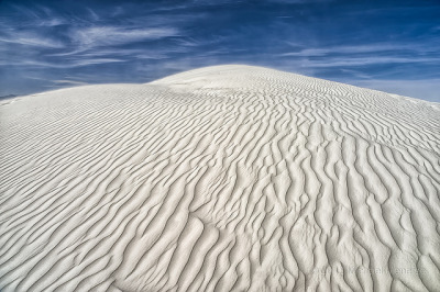 The Contours of White Sands National Monument by Fort Photo on Flickr.