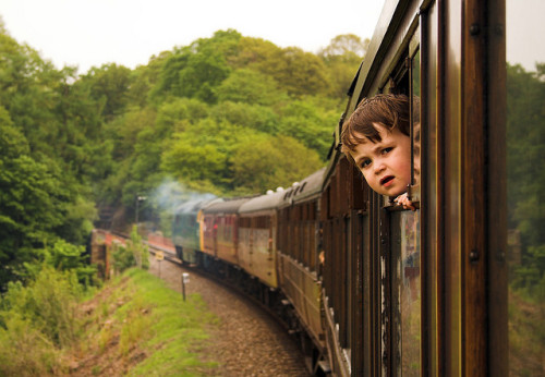 The Train Enthusiast by MarkyBon on Flickr.