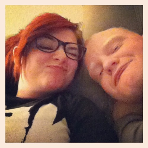 Funny faces with my pewp! (Taken with instagram)