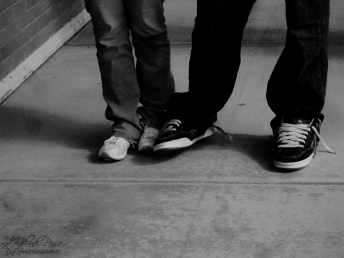 blankpagephotography:  089:// Stepping on each others' toes.