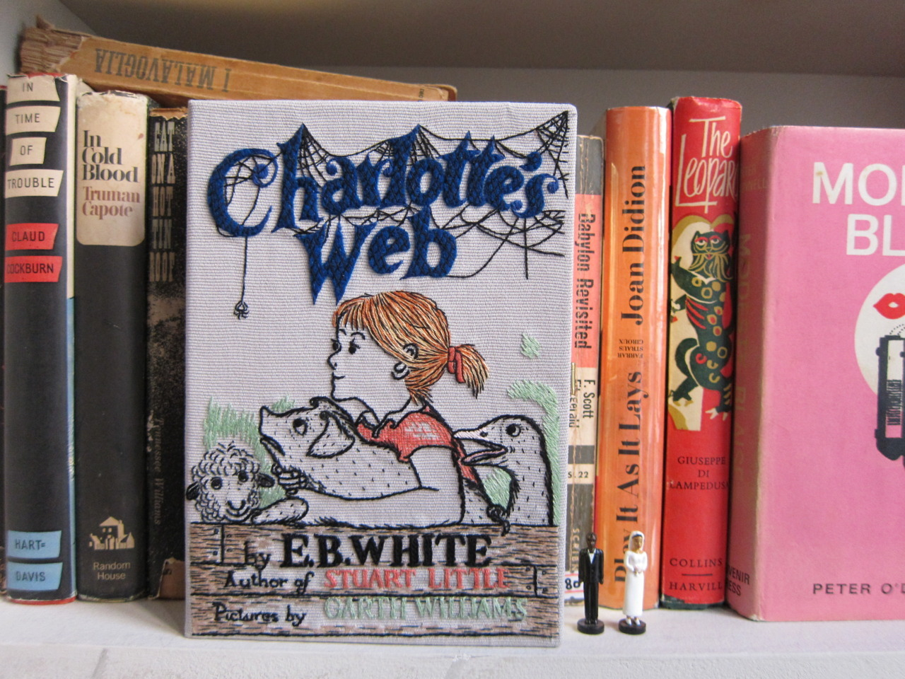 Charlotte's Web book-clutch by Olympia Le-Tan for Charlotte Olympia. Available soon exclusively at Charlotte Olympia.