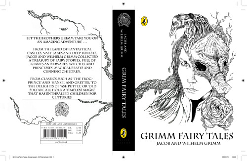 Brother's Grimm Puffin book jacket.
