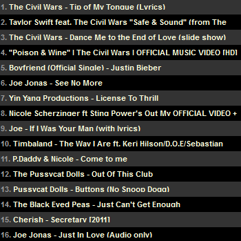 My current music on my site Updated on Apr 5th
