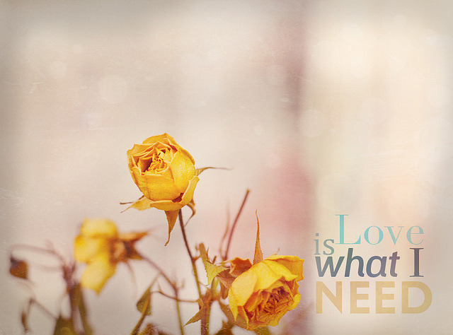 Love is what we all need :)