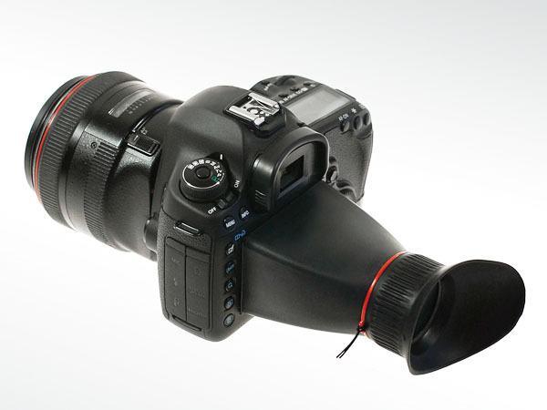 A new viewfinder loupe specifically designed for the Canon 5D  Mark III has been announced from Kinotehnik to compensate for the 5D Mark III's slightly larger screen. (via DSLR News Shooter)