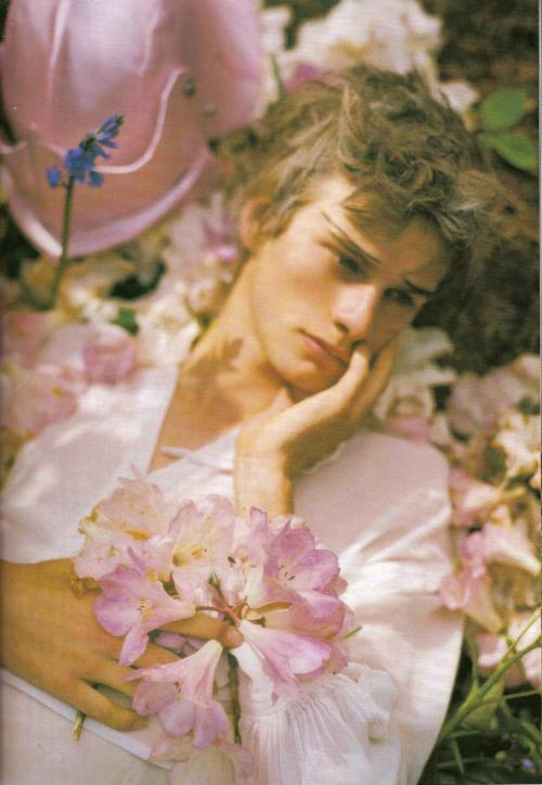 destruct-to-perfect:  Tom Wade in 'Dream and Magic' by Tim Walker
