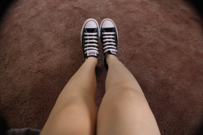 My new shoes came, puuuur.