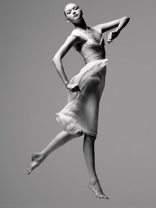 GEMMA WARD BY STEVEN MEISEL You will also like: if you jump high enough.