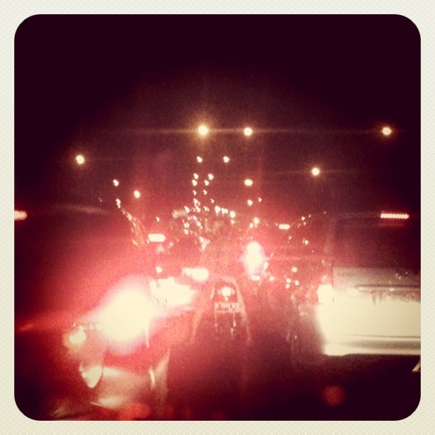 Hello #jakarta's #traffic  #iphonesia #instagram #IGers (Taken with instagram)