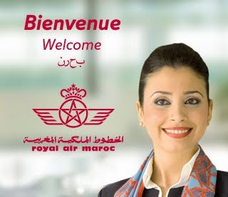 Uhm Royal Air Maroc. National airline of a country where Arabic is the official language. Yet, for some reason, the Arabic in this ad campaign is worse than that of an illiterate Anatolian man who doesnt speak Arabic. Yeah for Morocco!