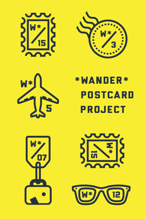 No. 0 / Wander Postcard Project
