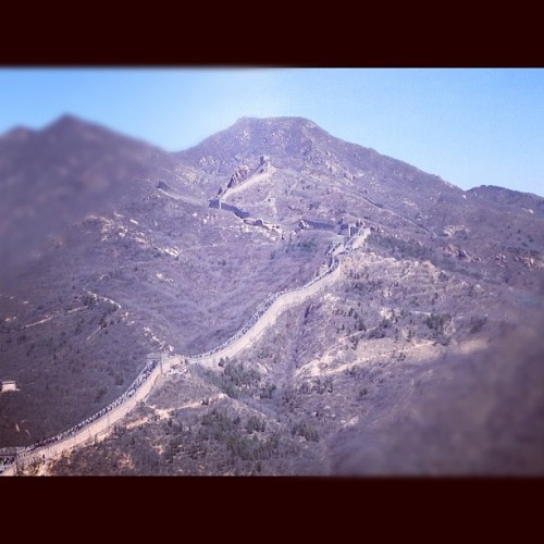 The Great Wall of China (Taken with instagram)