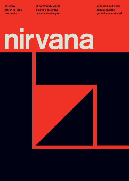 1967–1994.  Poster by Mike Joyce