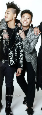 i ship them. this one is my otp in bigbang ^^ i jealous about their friendship. longlast. GDYB…. FIGHTING! i'm not own this photo.