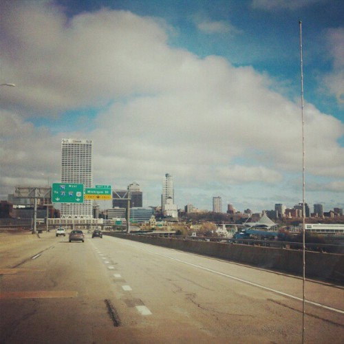 smellsliketeenspirit420:  My favorite view of #Milwaukee (Taken with instagram)
