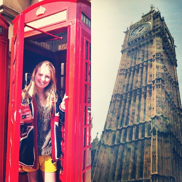 Miss it allready #london #love #england #uk #me #big #ben #sun (Taken with instagram)