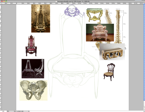 SAD ATTEMPTS AT FURNITURE DESIGN PART ONE  I'M SORRY, MAL, TO DESECRATE YOUR PROFESSION