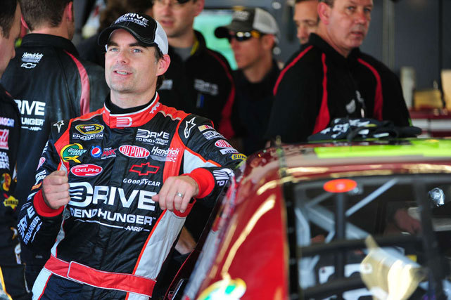 Jeff Gordon relaxes before the 2011 Daytona 500. A late accident at Martinsville last Sunday cost Jeff Gordon a chance at a Top 10 finish, says SI's Tim Tuttle, who thinks Gordon will need wins to qualify for the wildcard. (Fred Vuich/SI) TUTTLE: Gordon's Chase hopes the biggest casualty at MartinsvilleGALLERY: Rare Photos of Jeff Gordon