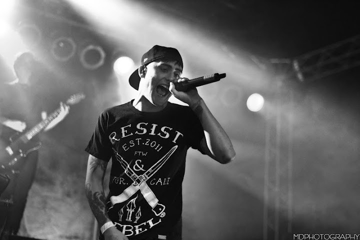 Kyle Pavone / We Came As Romans - Fire & Ice tour / San Diego, CA