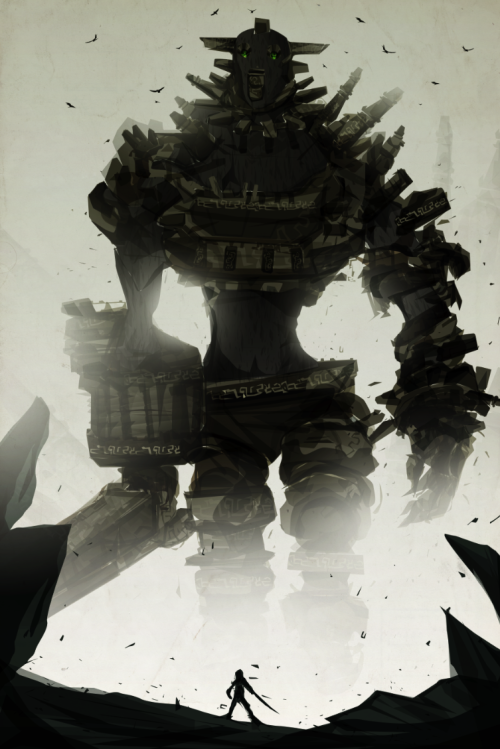 svalts:  Shadow of The Colossus - by Justin Currie Blog | deviantART